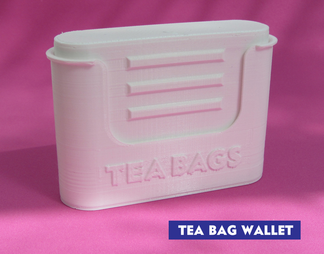 Tea bag wallet 3D Print 116949