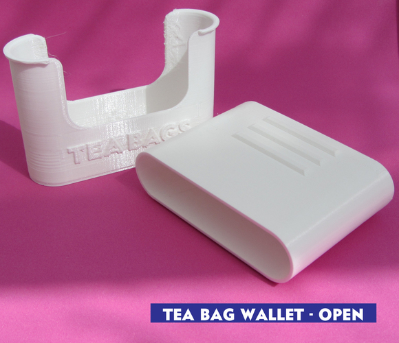 Tea bag wallet 3D Print 116950