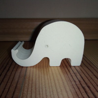 Small Phone holder elephant 3D Printing 116989