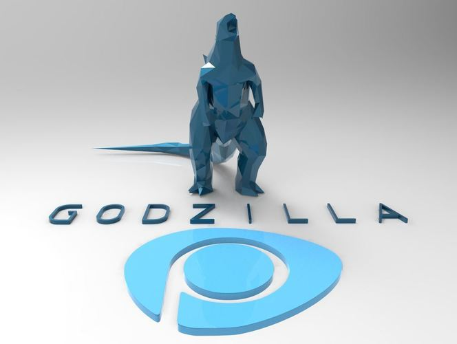 Godzilla - Scream- Multiple Resolution 3D Print 116998