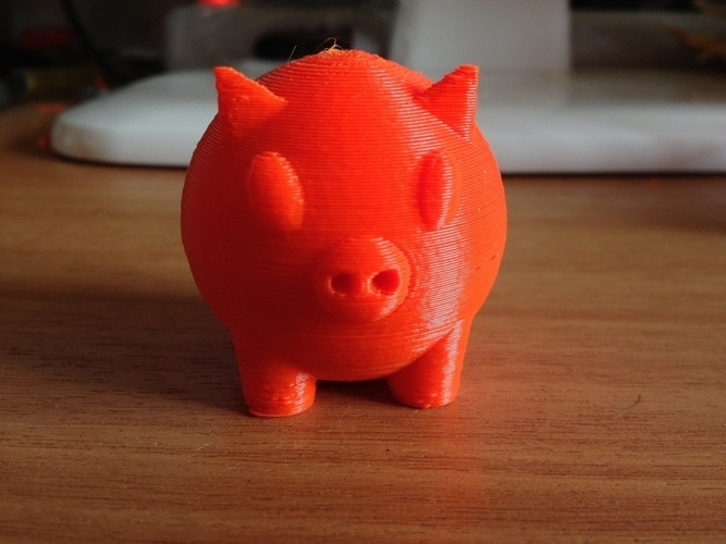 Little Piggy 3D Print 117006