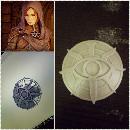 Dragon age inquisition insignia 3D Print 117107