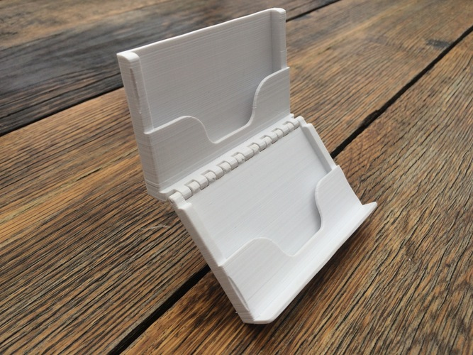 Wallet Hinged 3D Print 117268