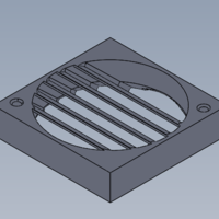 Small Type-A-Machine_Fan Shroud 3D Printing 117380
