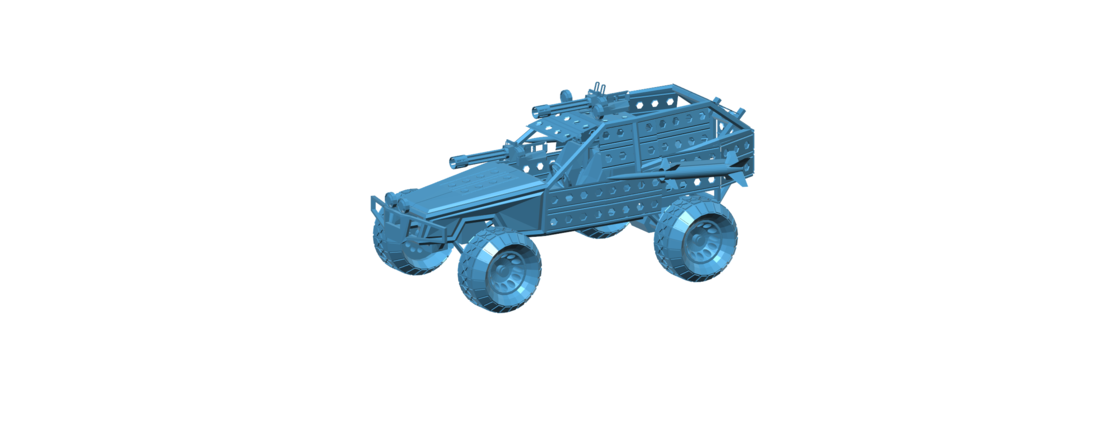 Post Apocalyptic Buggy - Mad Max 3D Print 117419