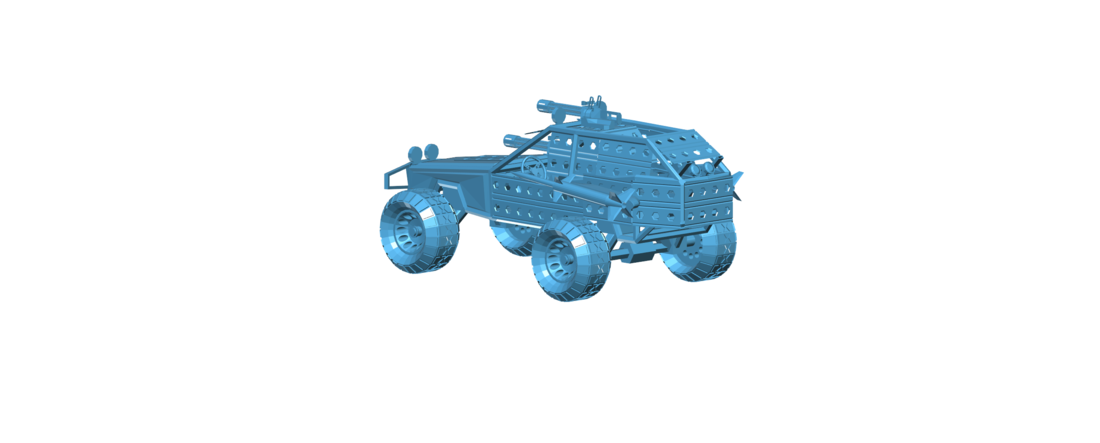 Post Apocalyptic Buggy - Mad Max 3D Print 117421
