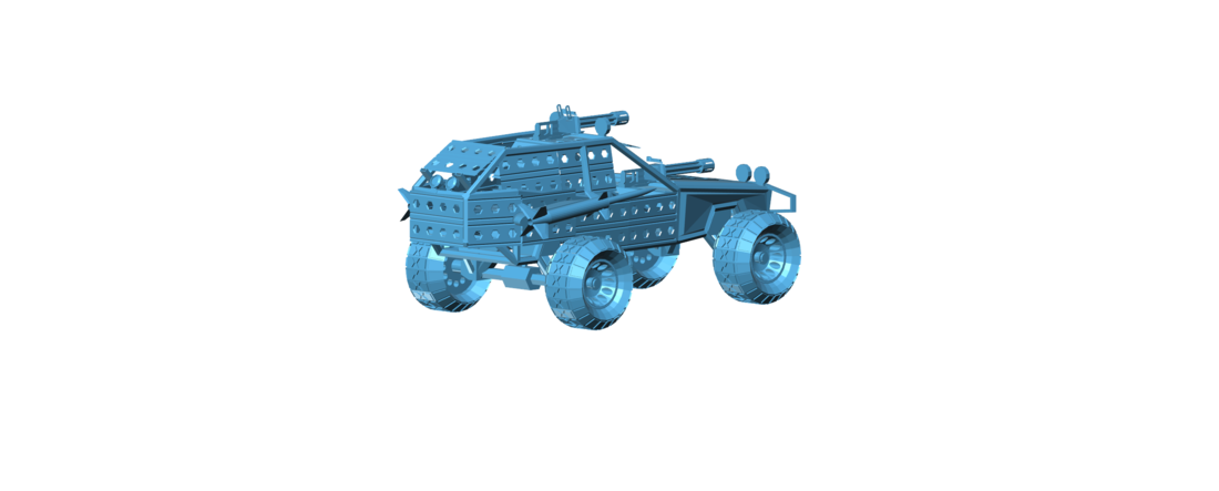 Post Apocalyptic Buggy - Mad Max 3D Print 117422