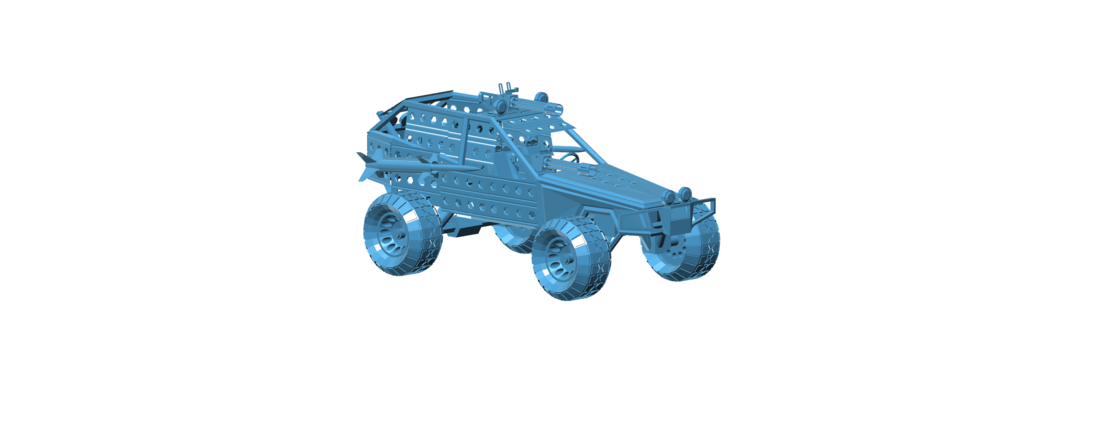 Post Apocalyptic Buggy - Mad Max 3D Print 117423