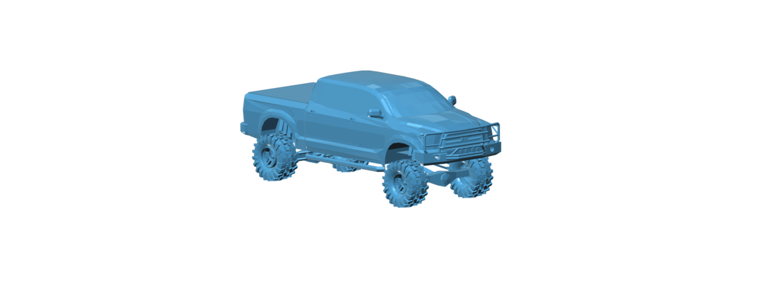 Smile More - Roman Atwood's 2014 Toyota Tundra 3D Print 117448