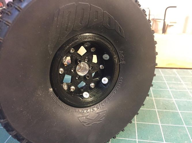 Experimental 2.2 Comp Wheel 3D Print 117453