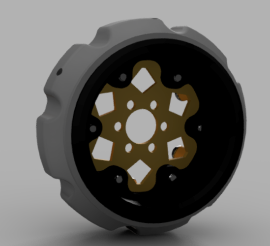 Experimental 2.2 Comp Wheel 3D Print 117455