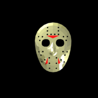 Small Jason Voorhees Hockey Mask - Friday the 13th 3D Printing 117470