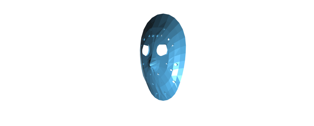 Jason Voorhees Hockey Mask - Friday the 13th 3D Print 117476