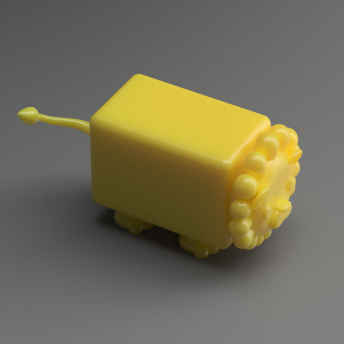Albert the Lion  3D Print 117502