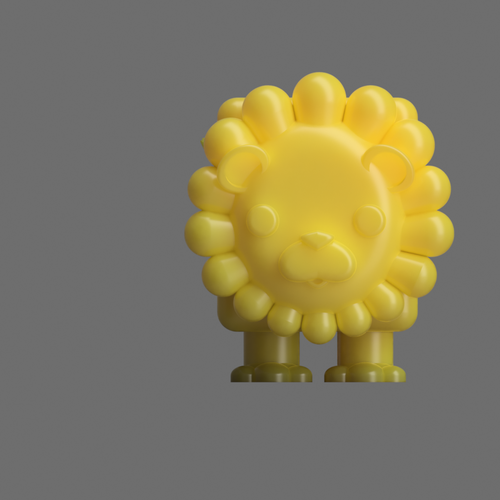 Albert the Lion  3D Print 117503