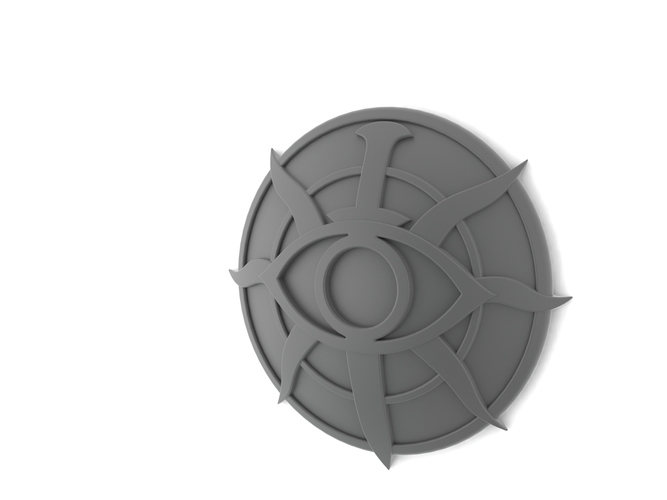 Dragon age inquisition insignia 3D Print 117559
