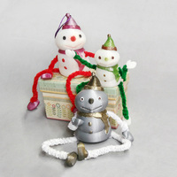 Small Decorative Snowman - Container 3D Printing 117592