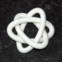 Small Borromean Rings 3D Printing 117597