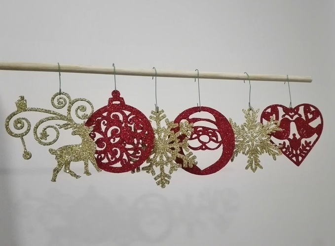 christmas ornaments 3D Print 117612