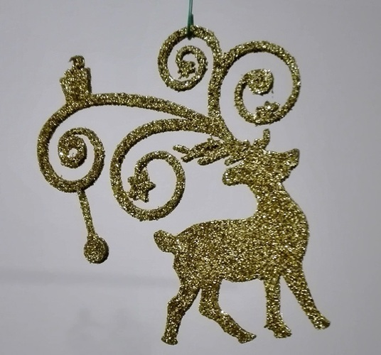 christmas ornaments 3D Print 117613