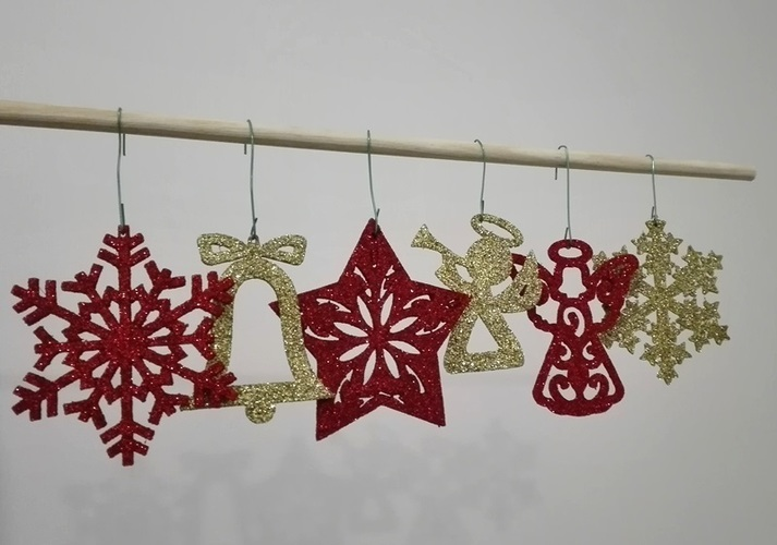Christmas ornaments - pack 2 3D Print 117617