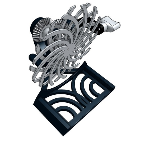 JUST RELEASED! Desktop Kinetic Art #001 3D Print 117689