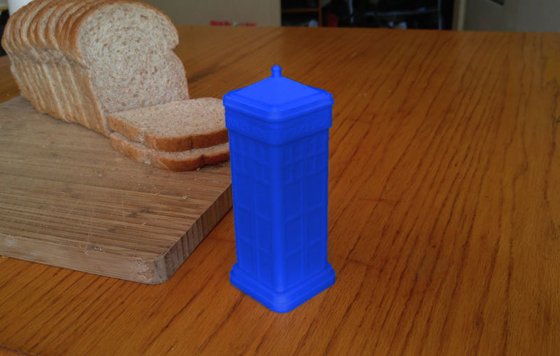 Dr. Who (inspired) Butter Dispencer 3D Print 117726