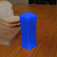 Small Dr. Who (inspired) Butter Dispencer 3D Printing 117726