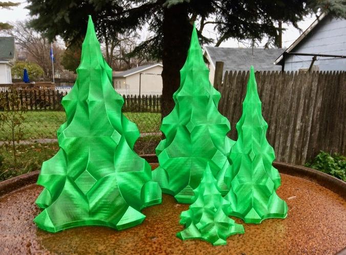 3d Printed Christmas Tree By Idig3d Pinshape