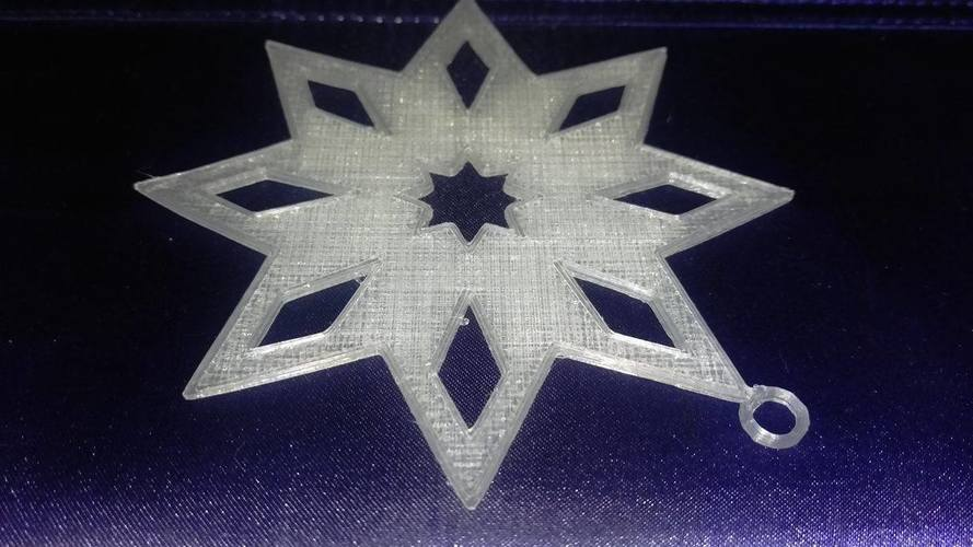 Star Ornament 3D Print 117850