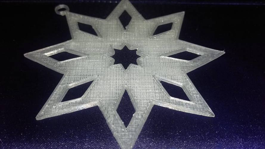 Star Ornament 3D Print 117851