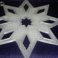 Small Star Ornament 3D Printing 117851
