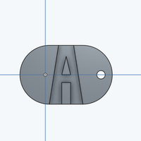 Small Adrian Garcia Dog Tag 3D Printing 117883