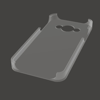 Small Samsung Galaxy A3 2016 case 3D Printing 117890
