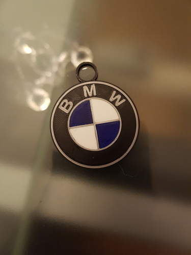 BMW key chain 3D Print 117915