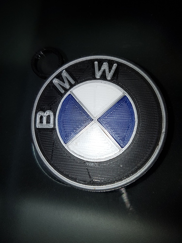 BMW key chain 3D Print 117916