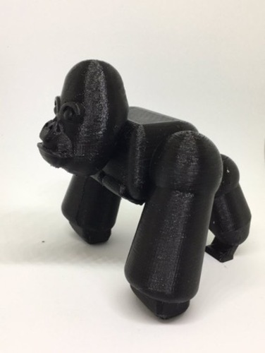 Rambo the Gorilla 3D Print 117970