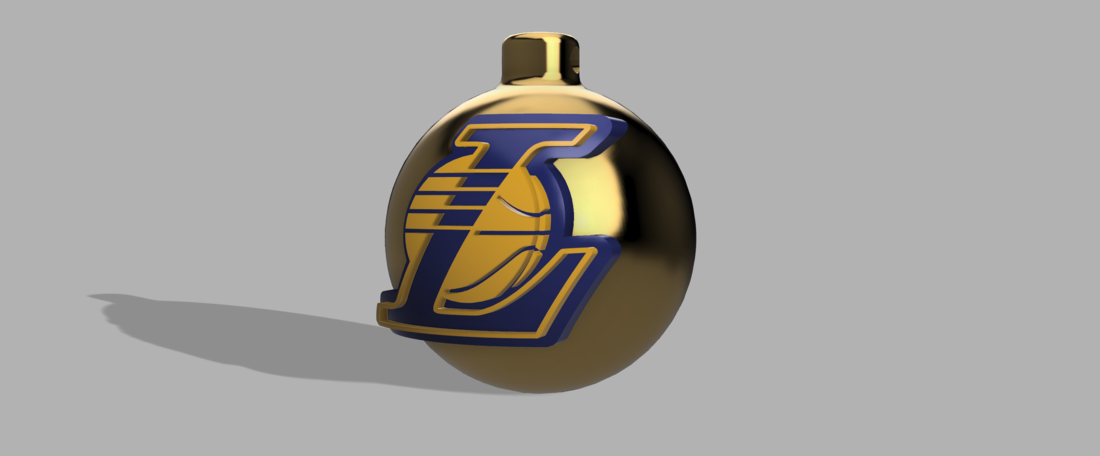 Lakers X-mas toy 3D Print 118054