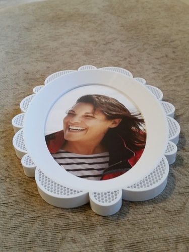 Oval Picture Frame 3D Print 118149