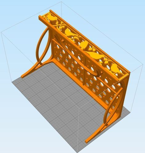 Decorative Shelf 3D Print 118231