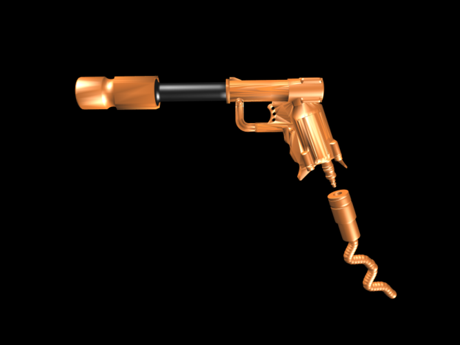 THE ​SPACE AIR HAMMER​ 2.0 - *FREE DOWNLOAD* 3D Print 118243