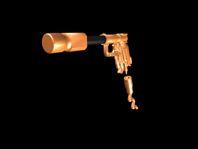 THE ​SPACE AIR HAMMER​ 2.0 - *FREE DOWNLOAD* 3D Print 118245