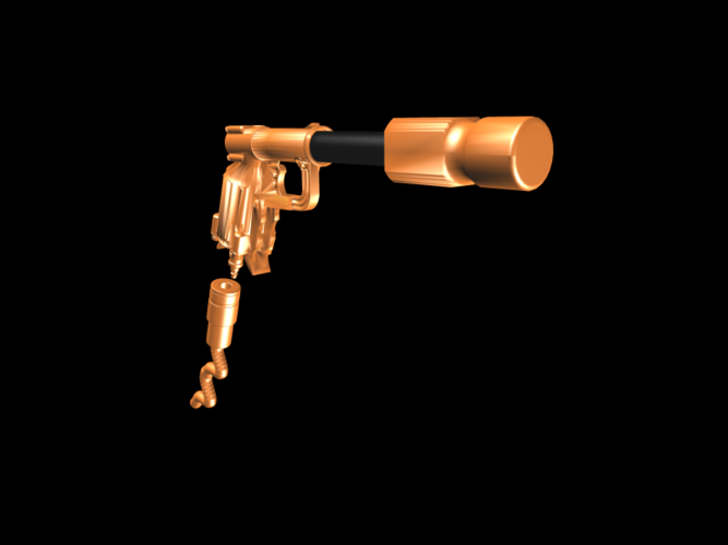 THE ​SPACE AIR HAMMER​ 2.0 - *FREE DOWNLOAD* 3D Print 118246