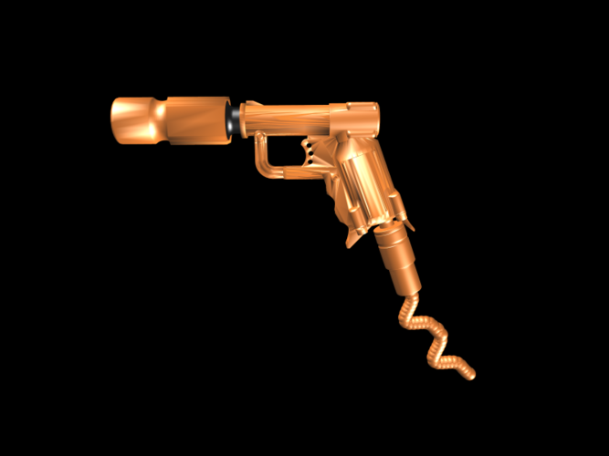 THE ​SPACE AIR HAMMER​ 2.0 - *FREE DOWNLOAD* 3D Print 118248