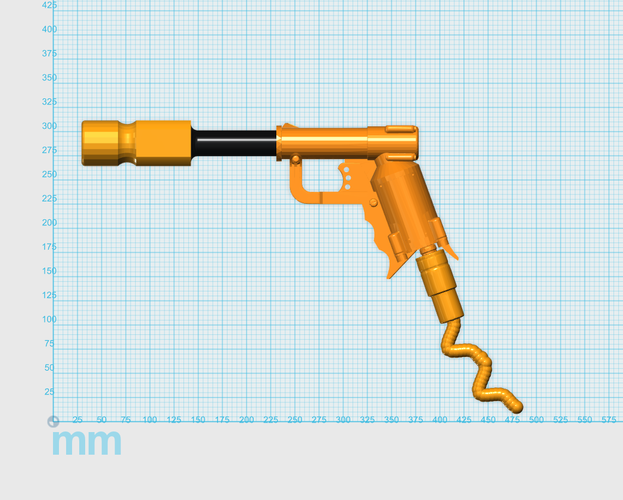 THE ​SPACE AIR HAMMER​ 2.0 - *FREE DOWNLOAD* 3D Print 118284