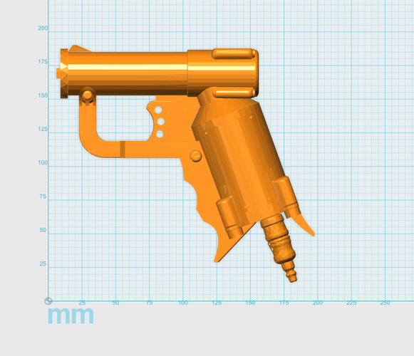 THE ​SPACE AIR HAMMER​ 2.0 - *FREE DOWNLOAD* 3D Print 118286