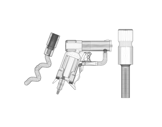 THE ​SPACE AIR HAMMER​ 2.0 - *FREE DOWNLOAD* 3D Print 118307