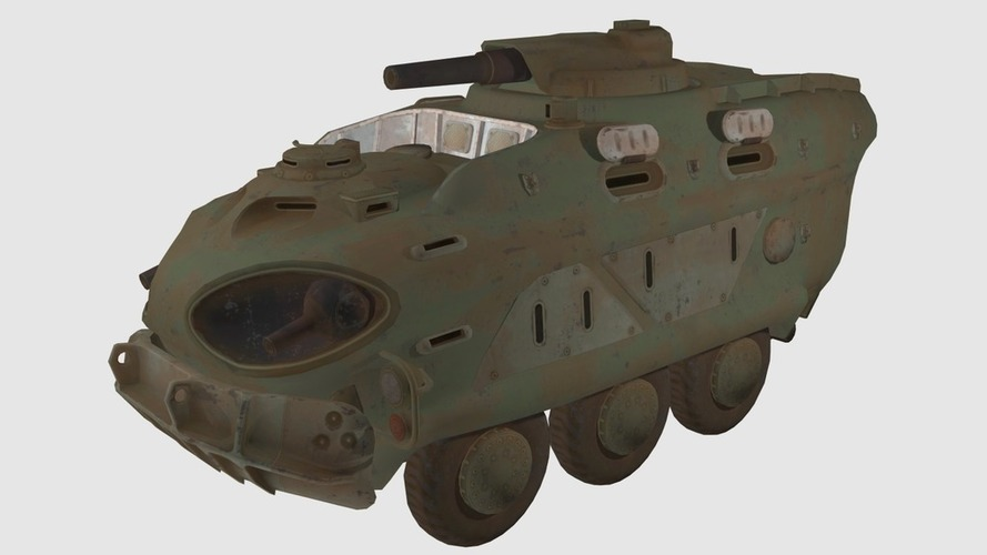3d printed fallout 4 military vehicle by xxwannabegamesxx pinshape