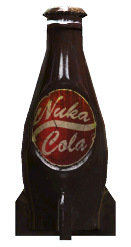 Nuka Cola Bottle 3D Print 118371