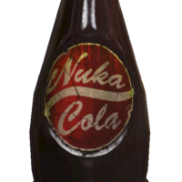 Small Nuka Cola Bottle 3D Printing 118371